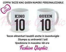 "Coppia Di Tazze Love You And Me /""Keep Calm King Queen/"""