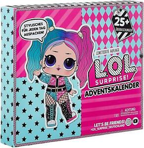 L.O.L. Surprise! Doll Holiday Advent Calendar Outfit Of The Day OOTD 2020