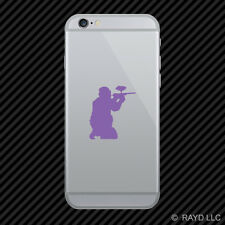 (2x) Paintball Cell Phone Sticker Mobile many colors