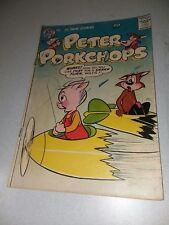 PETER PORKCHOPS #47 dc comics 1957 silver age funny animal Sheldon Mayer art