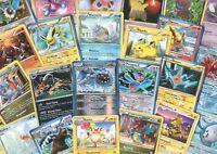 Lot of 100 Pokemon Cards Commons, Uncommons, Rares