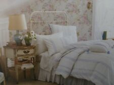 2 pc Simply Shabby Chic Embroidered Twin Duvet Cover & Sham Set NIP