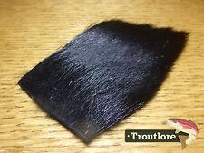 BLACK ALL PURPOSE MULE DEER HAIR NATURE'S SPIRIT - NEW FLY TYING MATERIALS