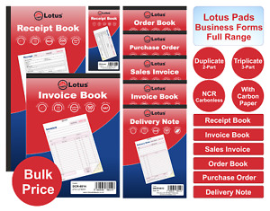 INVOICE/SALES INVOICE/DELIVERY/PURCHASE NOTE/RECEIPT BOOK DUPLICATE/TRIPLICATE