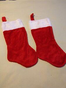 2 x Christmas stockings