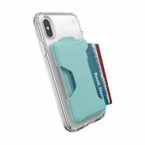 Speck Universal LootLock Cell Phone Wallet Pocket - Surf Teal, Blue Blue