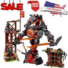 734pcs Ninja Dawn of Iron Doom Figures Building Blocks Kit Toys Set Kids DIY Toy