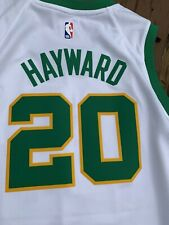 Nike Boston Celtics Gordon Hayward City Edition Swingman Jersey NBA sz small 40