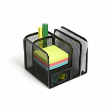 Myofficeinnovations 5 Compartment Wire Mesh Accessory Holder Matte 24402461