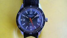 VINTAGE EARLY 1970'S MENS NORTH STAR 17 JEWELS SWISS DIVE DIVER WATCH GOOD USED