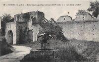 CPA 77 - PROVINS - Porte saint-jean et puits de la citadelle
