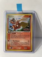 Blaziken 5/108 Rare Reverse Holo Pokemon Card Power Keepers STAMPED NM PSA READY