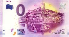 ESPAGNE Ibiza, 2017, Billet 0 € Souvenir