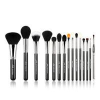 Jessup Professional 15Pcs Cosmetic Brush Set Powder Blush Eyeshadow Lip Makeup