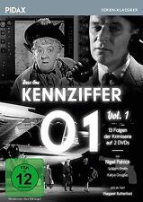 Kennziffer 01 - Vol. 1 * DVD Krimi Serie mit Margaret Rutherford Pidax Neu Ovp
