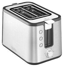 KRUPS Control Line KH442D Toaster Brötchenaufsatz Auftaufunktion 720W silber
