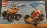 LEGO Instruction MANUAL ONLY No Bricks Creator 31022