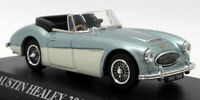 Norev Models 1/43 Scale Model Car 070011 - Austin Healey 3000 Mk3 - Blue/Ivory