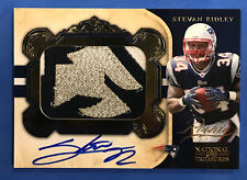 2011 National Treasures Stevan Ridley Rookie Patch Auto RPA Logo #11/49 (BB 58)