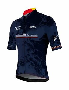 2020 Vincenzo Nibali 'Shark' Special Edition Men's Cycling Jersey by Santini