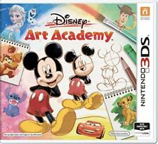 Disney Art Academy (3DS)  NEW AND UNSEALED - IN STOCK - QUICK DISPATCH - IMPORT