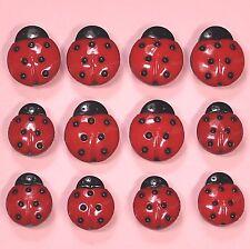Vestirla Botones Dama aves 0740-Mariquitas Mariquitas Bugs