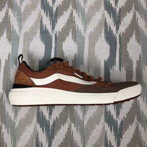 Vans Ultrarange Exo Se Mens Shoes Pumpkin Spice Brown Antique White Size 10.5