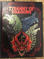 Dungeons & Dragons Tyranny Of Dragons Limited Edition Black Wizards New