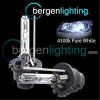 D2S WHITE XENON HID LIGHT BULBS HEADLIGHT HEADLAMP 4300K 35W FACTORY OE FITTED 2