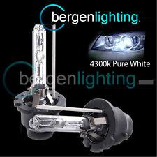 D2S WHITE XENON HID LIGHT BULBS HEADLIGHT HEADLAMP 4300K 35W FACTORY EO FITTED 2