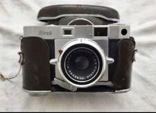 Ricoh 500 35mm Rangefinder Film Camera w/ Riken Ricomat 45mm 4.5cm f/2.8 Lens