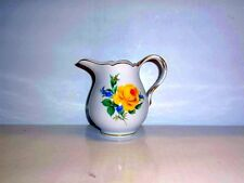 Meissen Gelbe Rose mit Vergissmeinnicht Giesser 0,15 l 020910 - 763