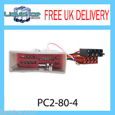 PC2-80-4 LANDROVER FREELANDER 2003 ONWARDS ISO STEREO HARNESS ADAPTOR LEAD