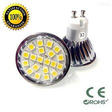 5050 SMD LED MR16 GU10 120V/220V 2800K Soft White Dimmable Chip
