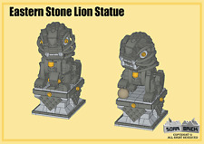 Custom instruction, consisting of LEGO elements - Eastern Stone Lion Statue