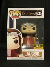 NEW Funko POP! Movies: Lord Of The Rings ELROND #635 HOT TOPIC EXCLUSIVE