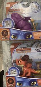DreamWorks Netlix DRAGONS RESCUE RIDERS Aggro Burple Winger Set of 2