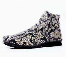 Women's Arche Baryky Boots Granite Black And White Size US 9 EU 40