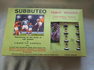 Vintage Subbuteo Continental Display Edition