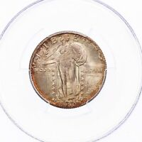 1930-S Standing Liberty 25C PCGS Certified MS66 US Silver Quarter Coin