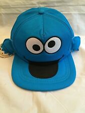 Sesame Street Cookie Monster NEW Youth Snapback Hat . OSFM NWT Gift Boys Girls
