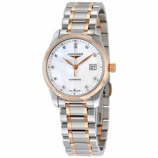 Longines Master Collection Mother of Pearl Dial Two-tone Ladies Watch L22575897