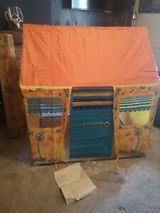 WOW! VINTAGE Mothercare 1970s Vinyl Plastic WENDY HOUSE Indoor Outdoor Toy Tent