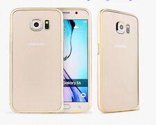 Luxury Alloy Metal Aluminium Bumper Frame Case Cover for Galaxy S6