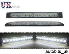 10 x 24v Blanco intermitente lateral 12 LED LUCES CAMIÓN TRAILER PARA MAN Iveco