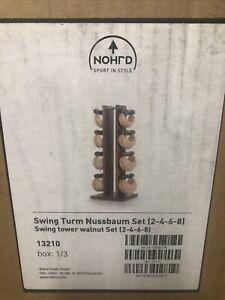 Nohrd Swing Turm Nussbaum Swing Tower Walnut Set Tower Only