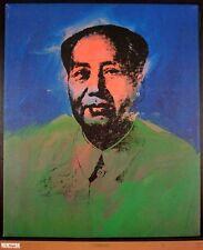 ANDY WARHOL - Chairman MAO, 1975 - Art Print Offset Lithograph Poster