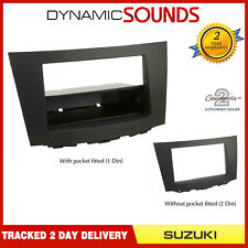 CT23SZ05 Black Double Din Fascia Adaptor Panel For Suzuki Kizashi 2010 - 2014