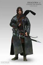 SIDESHOW HERR DER RINGE ARAGORN AS STRIDER / SIDESHOW EXCLUSIVE / SIXTH SCALE