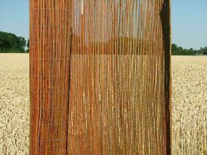 Weidenmatte Sichtschutz Weidenzaun terra - 3/5 m lang  - 100cm 150cm 200cm hoch